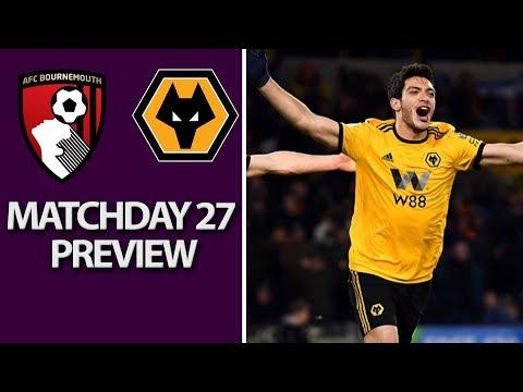 Video: Bournemouth v. Wolves | PREMIER LEAGUE MATCH PREVIEW | 02/23/2019 | NBC Sports