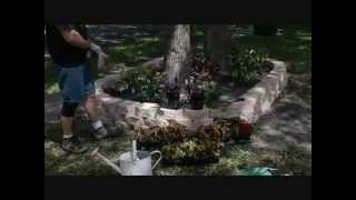 Do-it-yourself Retaining Wall