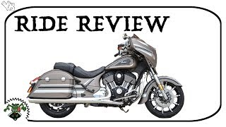 2. 2018 Indian Chieftain Limited ride review