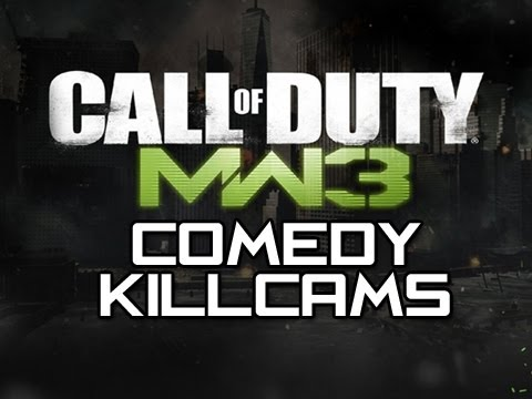 MW3 Comedy Killcams - Episode 25 (Funny MW3 Killcams with Reactions)