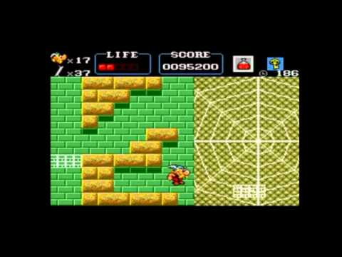 asterix master system walkthrough