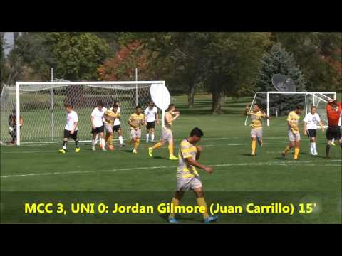 Highlights: Men's soccer vs. UNI Club (9/27/2014) W, 5-0