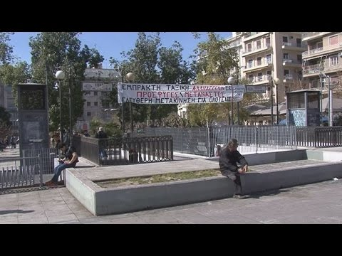 Άδειασε από πρόσφυγες η πλατεία Βικτωρίας
