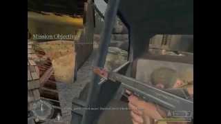 Call of Duty 1: Level 4 Araba ile kaçmaAlman hatlarının içine giriyoruz ve araba ile kaçıyoruz.