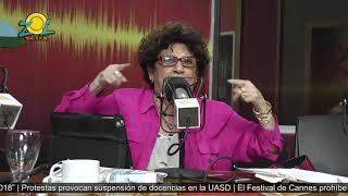 Consuelo Despradel comenta noticia RD sale de lista negra de derechos humanos