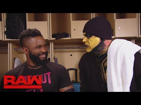 Goldust channels Burgess Meredith to inspire Cedric Alexander: Raw, Jan. 8, 2018