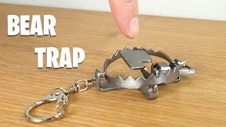 Keyring BEAR TRAP Build - The Little Nipper