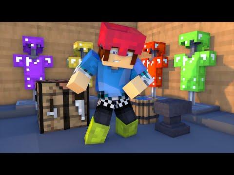 Minecraft Mod: FAÇA ARMADURAS DE VARIAS CORES !! - Colorful Armor Mod
