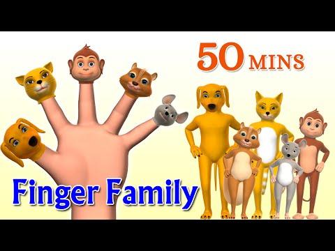 Finger - Animal Finger Family 2 -