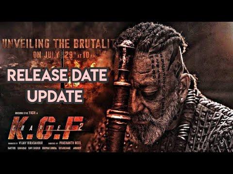 Kgf Chapter 2 Release Date Update | Kgf Chapter 2 Update | Kgf Chapter 2 | Yash, Sanjay Dutt |