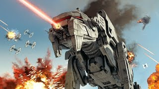 Star Wars The Last Jedi: Battle of Crait 4K | Battlefront 2 Cinematic