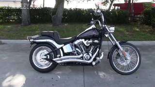 9. 2007 Harley Davidson FXSTC Softail for sale as seen on ebay