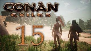 Conan Exiles — прохождение игры на русском — Продолжаем гулять по джунглям, жрица Деркето [#15] | PC