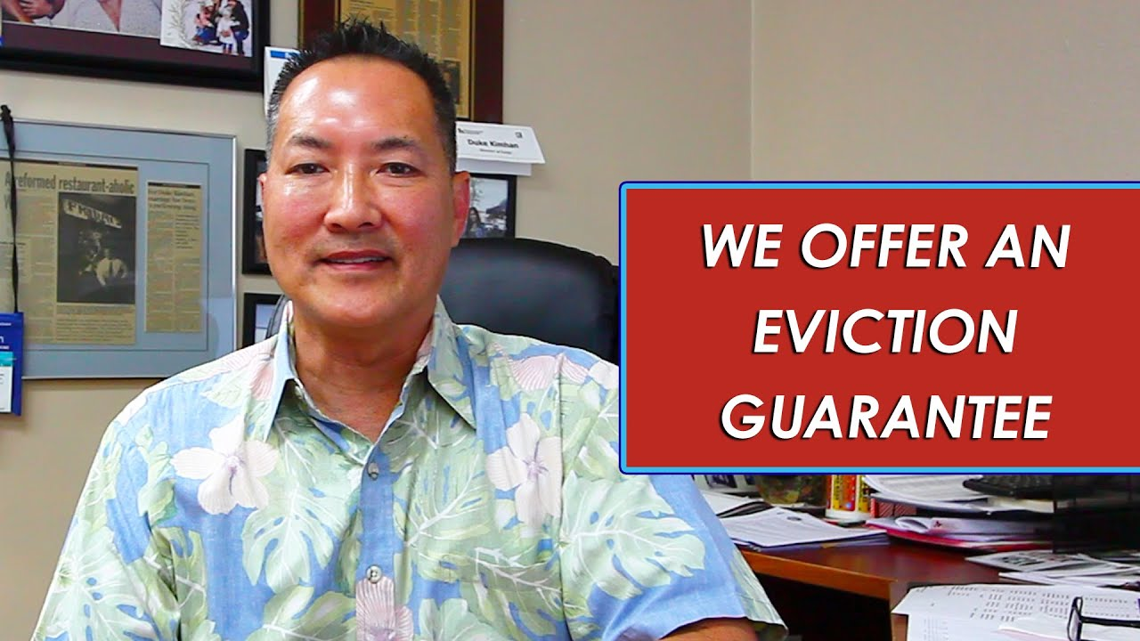 Q: What Is Our Eviction Guarantee?