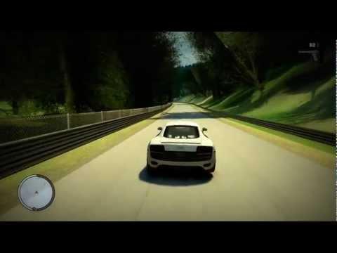 GTA IV Nürburgring Custom Map Mod + Cool car pack + Download link (Direct)