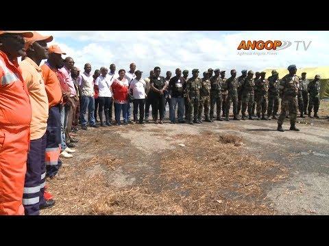 Equipa humanitária angolana pronta para integração