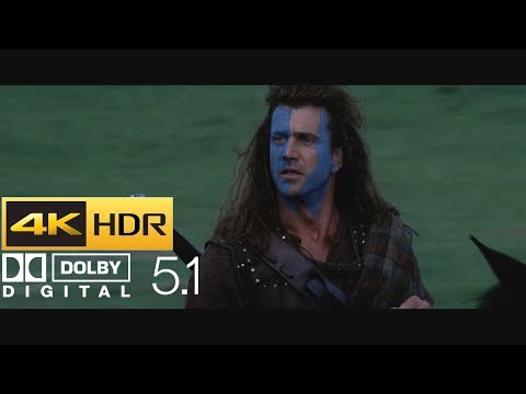 Braveheart - Freedom Speech (HDR - 4K - 5.1)