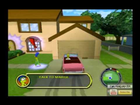 code les simpson le jeu playstation 2