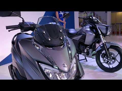 Suzuki Burgman Street 125 Scooter India Launch & details - Auto Expo 2018 #ShotOnOnePlus