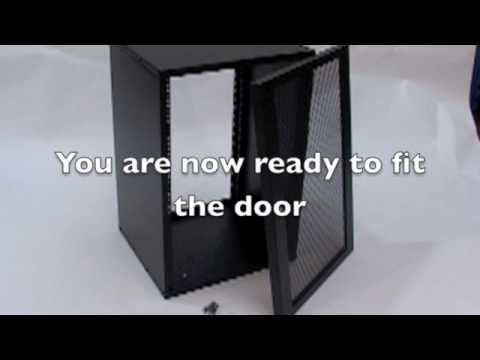 Assembly guide for the R8400 Flat Pack Rack Enclosure