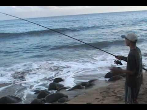 Bonefish From Shore at Kalalau – 2004