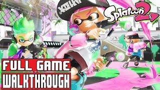 """Splatoon 2 Walkthrough This is Splatoon 2 Gameplay Walkthrough that covers the Full Game up to the ending of Splatoon 2.Splatoon 2 Giveawayhttps://gleam.io/competitions/RPOJw-splatoon-2-giveawaySummarySplatoon 2 is a third-person shooter developed and published by Nintendo, and the sequel to the Wii U game Splatoon. The game features battles between Inklings, using weaponized ink to cover territory and """"splat"""" opponents. While it was teased on October 20, 2016 during the reveal trailer for the Nintendo Switch game console, Nintendo did not officially confirm this or any other game showcased in the video as being in development at the time. The title was officially unveiled on January 13th, 2017 at the Nintendo Switch Presentation in Tokyo, Japan and demos were playable at Switch hands on events. A testfire demo was playable March 24–26, 2017. The game is due to release July 21, 2017.Subscribe Herehttps://www.youtube.com/channel/UCm4WlDrdOOSbht-NKQ0uTeg?sub_confirmation=1Twitch Channel Here http://www.twitch.tv/rabidretrospectgamesTwitterhttps://twitter.com/RabidRetroGPATREONhttps://www.patreon.com/user?u=2795437Feel free to check out our channel! We've got walkthroughs from everything from Resident Evil 7 to LoZ Breath of the Wild."""