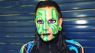 Jeff Hardy surprised the WWE Universe by bringing back an old look at two Live Events. Cathy Kelley checks out the return of The Charismatic Enigma's face paint.More ACTION on WWE NETWORK : http://wwenetwork.comSubscribe to WWE on YouTube: http://bit.ly/1i64OdTMust-See WWE videos on YouTube: https://goo.gl/QmhBofVisit WWE.com: http://goo.gl/akf0J4