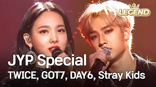 Video JYP Special - TWICE, GOT7, DAY6, Stray Kids [2018 KBS Song Festival / 2018.12.28] MP3, 3GP, MP4, WEBM, AVI, FLV Januari 2019
