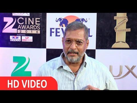 Nana Patekar At Red Carpet Of Zee Cine Awards 2016