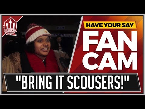 """BRING ON LIVERPOOL"" Crystal Palace 2-3 Manchester United FANCAM"