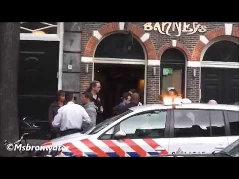 Gewapende overval op coffeeshop Barney's Lounge Amsterdam