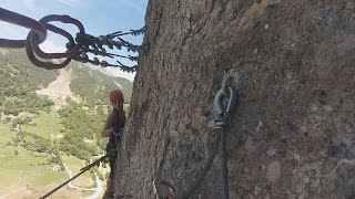 Camaleno Spain  City new picture : GoPro VIA FERRATA Los Llanos Camaleño Cantabria
