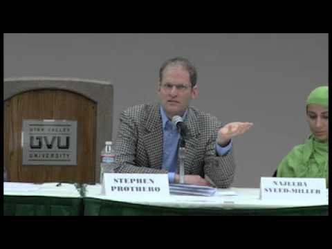 UVU: Podiumsdiskussion - Freitag 11. März