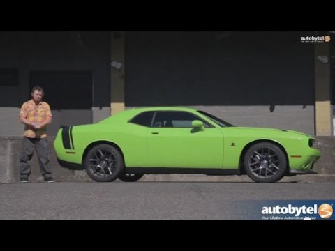 2015 Dodge Challenger Scat Pack Overview and Road Test