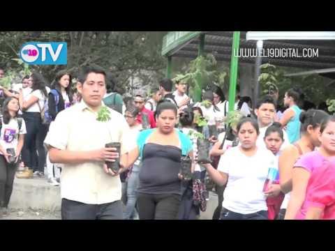 Desarrollan caminata ecológica en honor a Tomás Borge