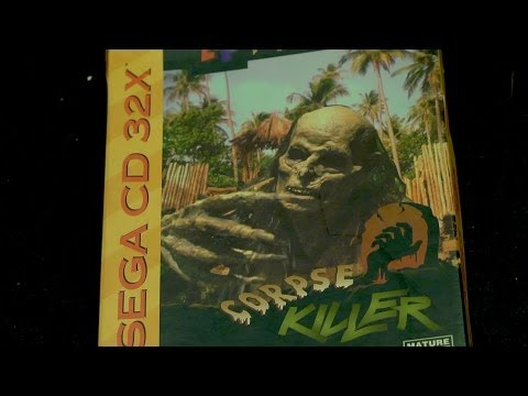 Sega - James Rolfe and Mike Matei take a look at Corpse Killer on Sega CD 32X! Subscribe: http://www.youtube.com/subscription_center?add_user=JamesNintendoNerd Chec...