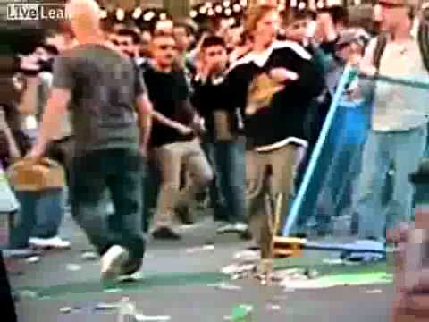 0 Fun Friday Video: Vancouver Rioter Gets Hit in the Canucks