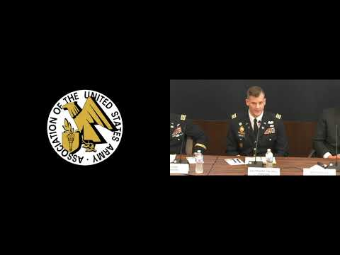 AUSA Cyber Hot Topic 2018 - Panel 3 - Cyber Support To Corps And Below