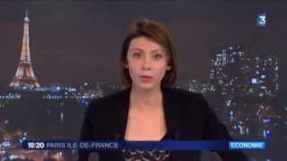 Argenteuil France  city photo : Reportage de France 3 sur la paralysie d'Argenteuil par les syndicats de la ville.