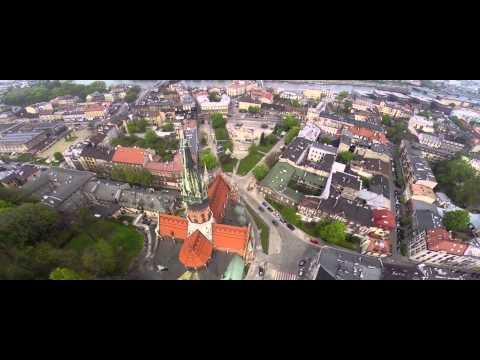 Kraków z drona