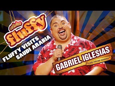 Video Fluffy Visits Saudi Arabia - Gabriel Iglesias (from Aloha Fluffy: Gabriel Iglesias Live from Hawaii) download in MP3, 3GP, MP4, WEBM, AVI, FLV January 2017