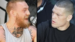 Video Conor McGregor & Nate Diaz Explode at UFC 196 Press Conference in LA (FULL) MP3, 3GP, MP4, WEBM, AVI, FLV Oktober 2018