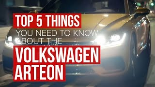 Five things you need to know about that 2018 Volkswagen Arteon by Roadshow