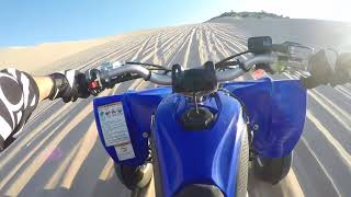 8. YFZ 450R Sand Mountain Solo Riding