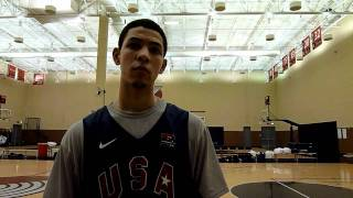 Austin Rivers Nike Hoop Summit Interview
