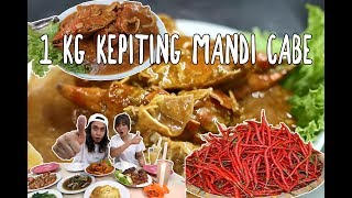 Video GIla! 1 Kg Kepiting JUMBO Mandi CABE LUDES MP3, 3GP, MP4, WEBM, AVI, FLV Januari 2019
