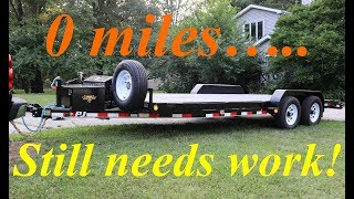 9. 2019 PJ equipment trailer winch mount fabrication,  LED light installation and other mods..