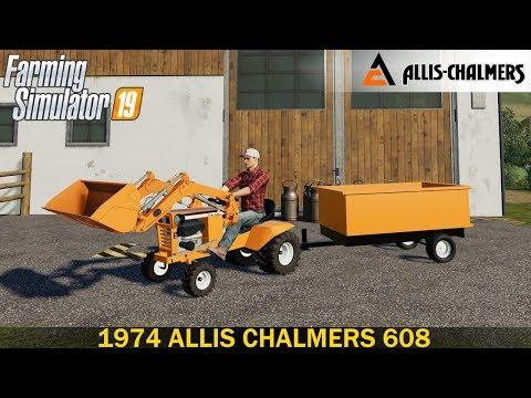 1974 ALLIS CHALMERS 608 MOD PACK v1.5.0.0