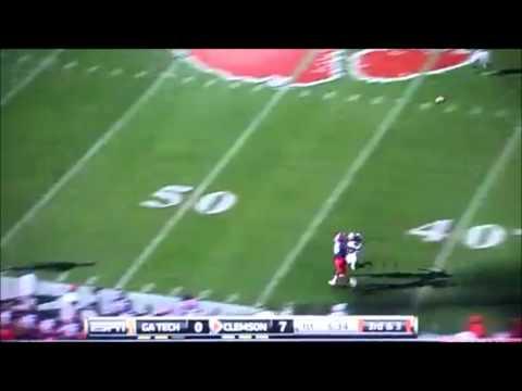 DeAndre Hopkins Catch vs Georgia Tech 2010 video.