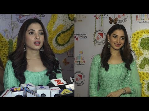 Tamanna Bhatia Wishes Her Fans Happy Diwali At Inauguration Of Fund Raiser Event For Cancer